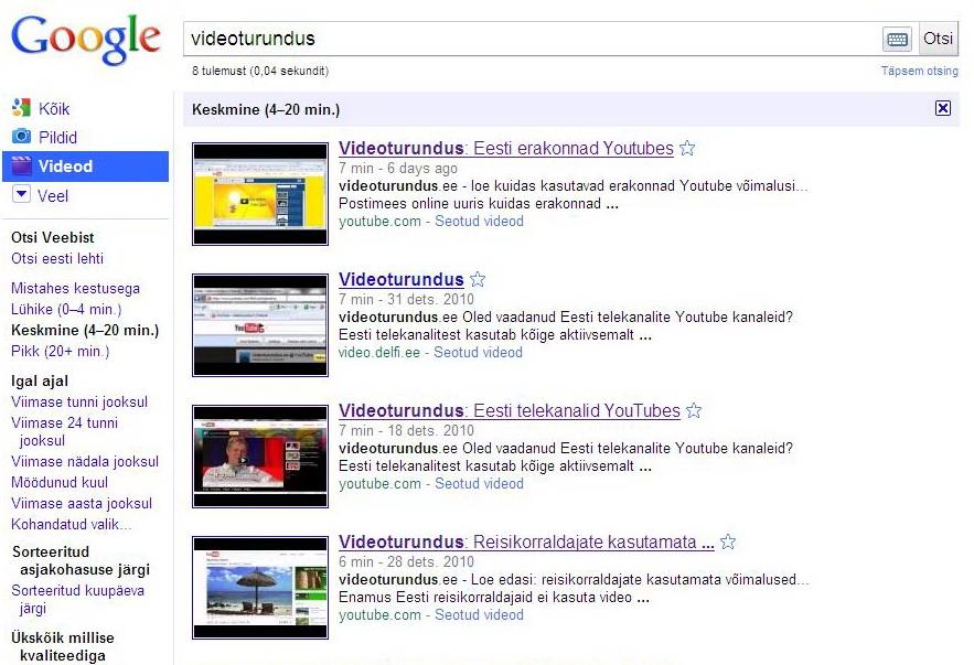 videootsing