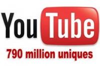 YouTube 790 000 000